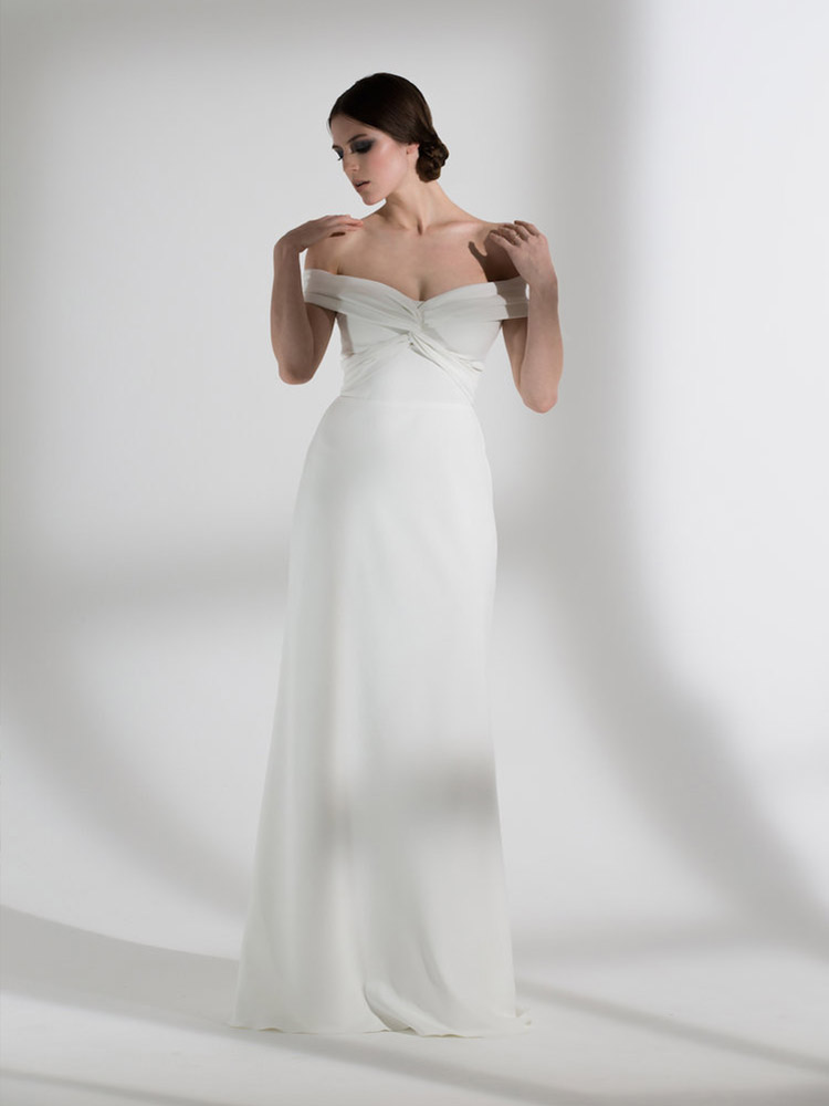 Halfpenny London Wedding Dress Daffodil