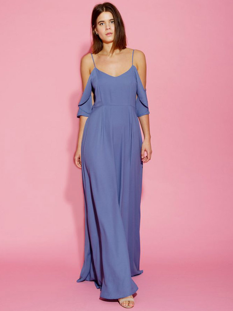 Rewritten Bridesmaid Dress Mykonos Blue