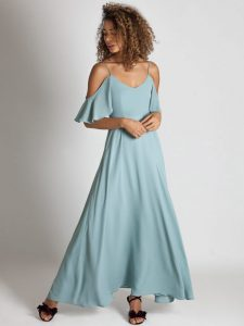 Rewritten Bridesmaid Dress Mykonos Marine