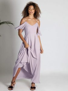 Rewritten Bridesmaid Dress Mykonos Oyster