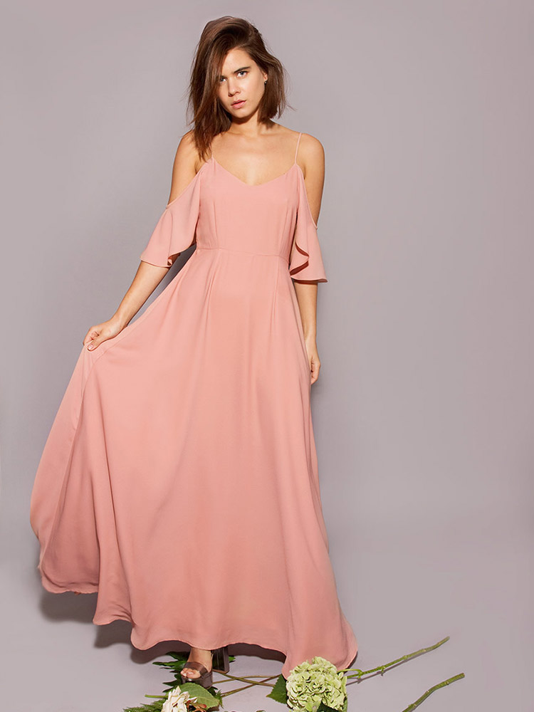 Rewritten Bridesmaid Dress Mykonos Pink