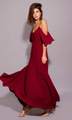 Rewritten Bridesmaid Dress Mykonos Red