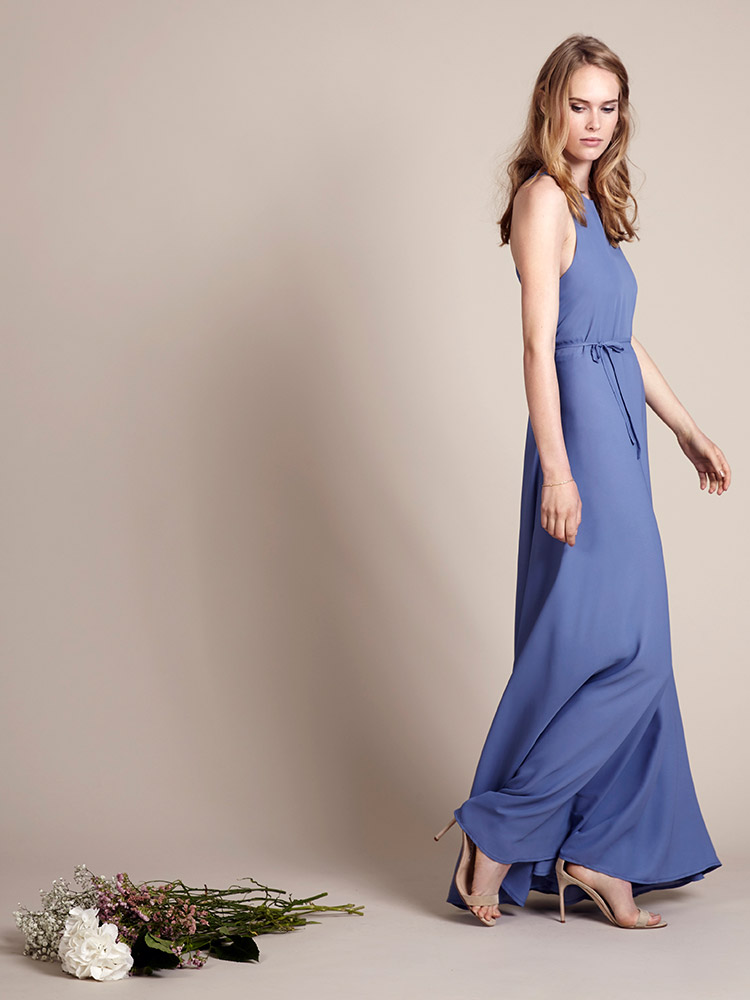 Rewritten Bridesmaid Dress Vienna Blue